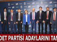 Saadet Partisi adaylarını tanıttı