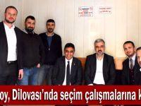 Abdullah Eryarsoy, Dilovası'na geldi