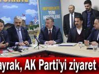Albayrak, AK Parti'yi ziyaret etti