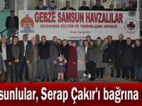 Samsunlular, Serap Çakır'ı bağrına bastı