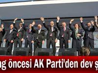 Miting öncesi AK Parti'den dev şölen