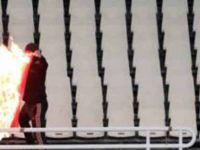 Mağlubiyeti hazmedemediler! Türk bayrağı yaktılar