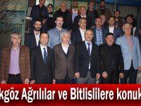 Büyükgöz Ağrılılar ve Bitlislilere konuk oldu