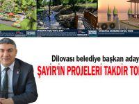 Şayir'in projeleri takdir topluyor