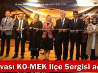 Dilovası KO-MEK İlçe Sergisi açıldı