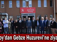 Aksoy'dan Gebze Huzurevi'ne ziyaret