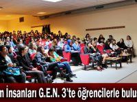 Bilim İnsanları G.E.N. 3'te öğrencilerle buluştu