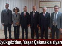 Büyükgöz'den, Yaşar Çakmak'a ziyaret