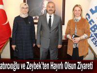 Katırcıoğlu ve Zeybek'ten Hayırlı Olsun Ziyareti