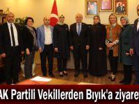 AK Partili Vekillerden Bıyık'a ziyaret