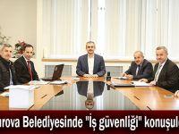 """Çayırova Belediyesinde """"İş güvenliği"""" konuşuldu"""