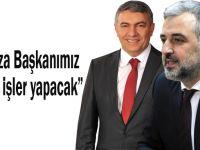 """Eryarsoy, Hamza Başkanımız güzel işler yapacak"""""""