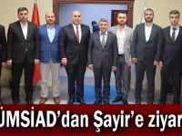 TÜMSİAD'dan Şayir'e ziyaret