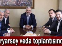 AK Parti toplantısı başladı