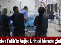 Gebze Fatih'te Anjiyo Ünitesi hizmete girdi