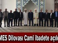İMES Dilovası Cami ibadete açıldı