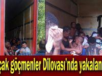 Kaçak göçmenler Dilovası'nda yakalandı!