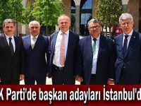 AK Parti'de başkan adayları İstanbul'da