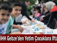 İHH Gebze'den Yetim Çocuklara İftar
