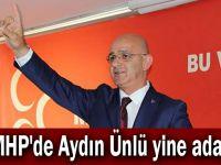 MHP'de Aydın Ünlü yine aday