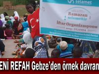 Yeni Refah Gebze'den örnek davranış!