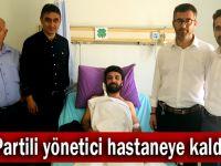 Muhammet Korgan hastaneye kaldırıldı
