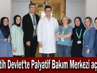 Fatih Devlet'te Palyatif Bakım Merkezi açıldı