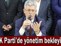 AK Parti'de yönetim bekleyişi