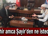 Başkan Şayir'e sürpriz ziyaret