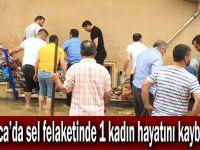 Darıca'da sel felaketinde 2 kadın mahsur kaldı! 1 kişi öldü