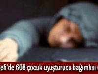 Kocaeli'de 608 çocuk uyuşturucu bağımlısı çıktı!