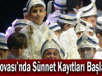 Dilovası'nda Sünnet Kayıtları Başladı