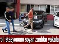 Gebze'de petrol soygunu yapan zanlılar yakalandı!