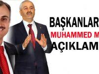 Büyükgöz ve Çiftçi'den Mursi açıklaması