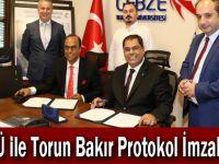 GTÜ ile Torun Bakır Protokol İmzaladı