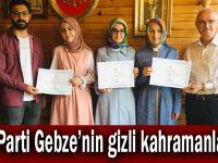 AK Parti Gebze'nin gizli kahramanları!