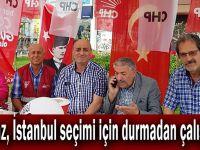 Yılmaz, İstanbul seçimi için durmadan çalışıyor!