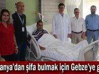 Romanyalı Hasta Şifayı Gebze Fatih Devlet Hastanesinde Buldu