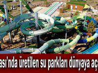 Dilovası'nda üretilen su parkları dünyaya açılıyor!