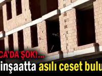Darıca'da inşaatta intihar!
