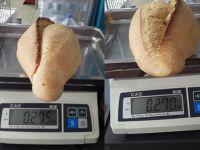 Ekmeğin gramajı arttı ama birbirini tutmuyor!
