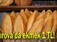 Çayırova'da ekmek 1 lira!