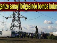 Organize sanayi bölgesinde bomba bulundu!