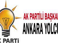 AK Partili başkanlar Ankara yolcusu