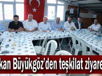 Başkan Büyükgöz'den teşkilat ziyaretleri