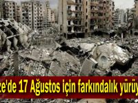 Gebze'de 17 Ağustos için farkındalık yürüyüşü!