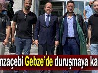 Hamzaçebi Gebze'de duruşmaya katıldı