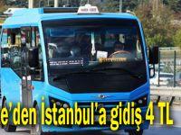 Gebze'den İstanbul'a gidiş 4 TL