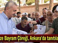 Gebze Bayram Çöreği, Ankara'da tanıtılacak