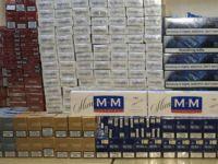 Araçtan binlerce paket kaçak sigara çıktı!